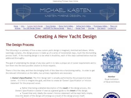Cached version of The Yacht Design Process