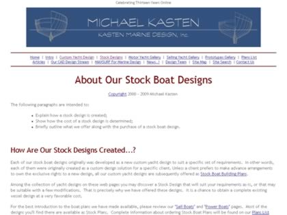 Cached version of Stock Boat Designs