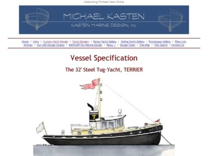 Cached version of Vessel Specification