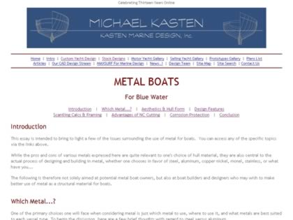 Cached version of Metal Boats for Blue Water