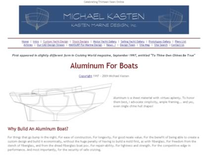 Cached version of Aluminum for Boats