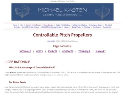 Cached version of Controllable Pitch Propellers