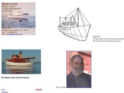 Cached version of Michael Porter, Marine Design