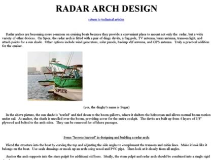 Cached version of Radar Arch Design