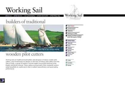 Cached version of Working Sail