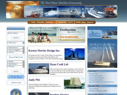 Cached version of ProMaritim
