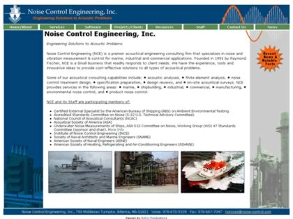 Cached version of Noise Control Engineering Inc.