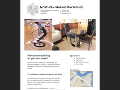 Cached version of Northern marine machining your complete stainless steal workshop