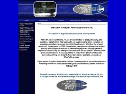 Cached version of North American Marine Jet Inc.