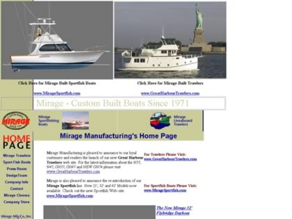Cached version of Mirage Custom Boats