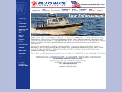 Cached version of Willard Marine