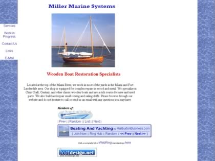 Cached version of Miller Marine Systems