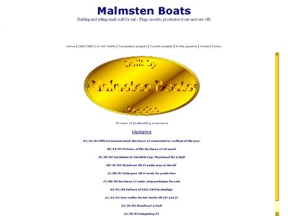 Cached version of Malmsten  Boats