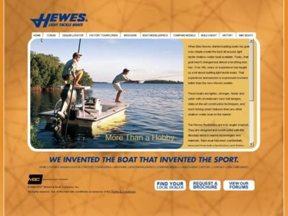 Cached version of Hewes Boat Company