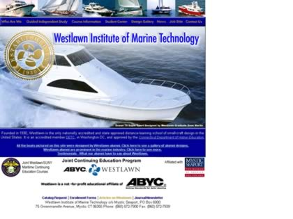 Cached version of Westlawn Institute Of Marine Technology