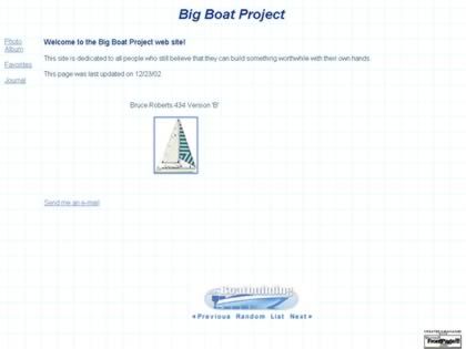 Cached version of The Big Boat Project