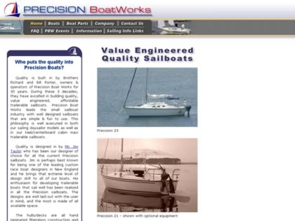 Cached version of Precision Boat Works