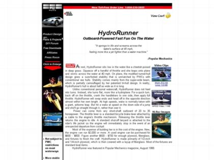 Cached version of HydroRunner