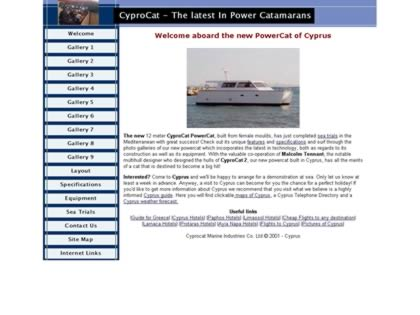 Cached version of CyproCat Power Catamarans