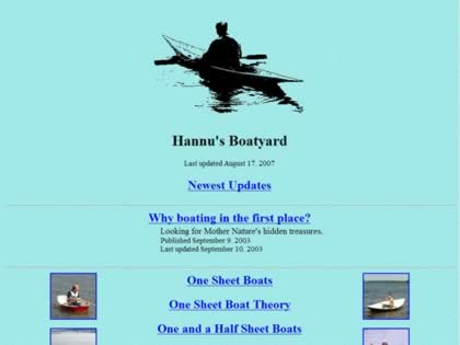 Cached version of HV Boat Projects