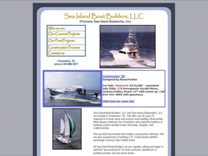 Cached version of Sea Island Boatworks