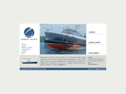 Cached version of Gorbon Yachts