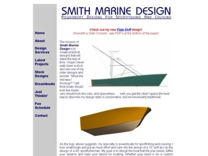 Cached version of Smith Marine Design