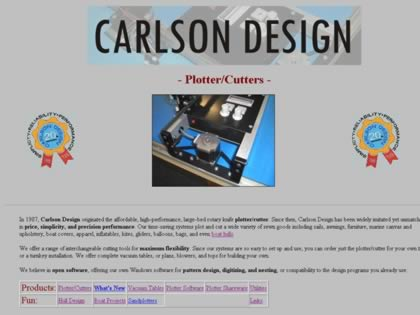 Cached version of Carlson Design Plotter and Cutters