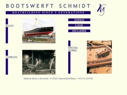 Cached version of Bootswerft Schmidt Motoryachts