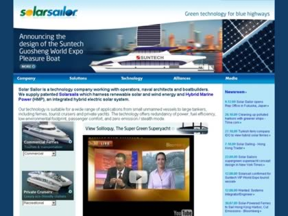 Cached version of Solar Sailor - The Vision