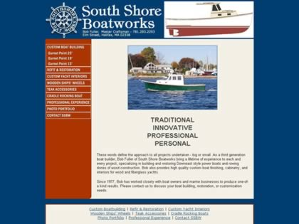 Cached version of South Shore Boatworks