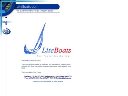 Cached version of LiteBoats