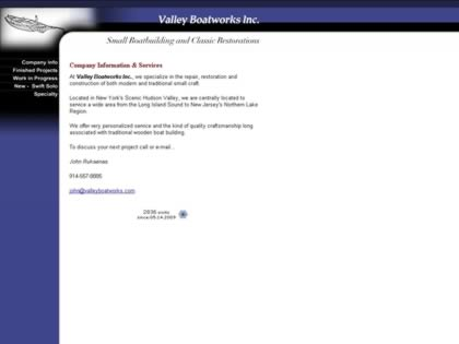Cached version of Valley Boatworks Inc.