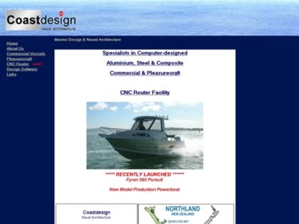 Cached version of Coastdesign Naval Architecture