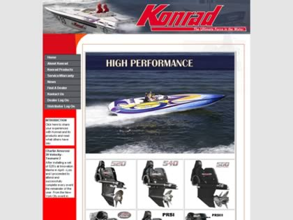 Cached version of Konrad Marine, Inc.