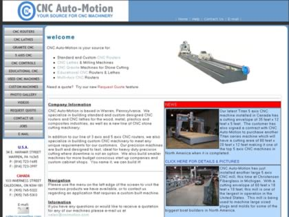 Cached version of CNC Auto-Motion