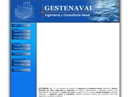 Cached version of GESTENAVAL, S.L.