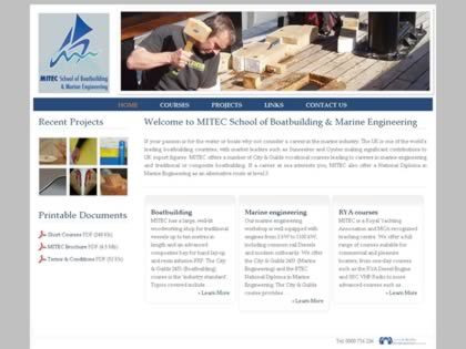 Cached version of MITEC School of Boatbuilding & Marine Engineering