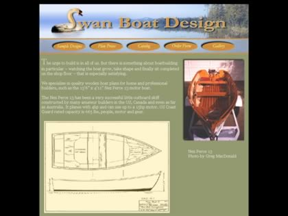 Cached version of Swan Boat Design
