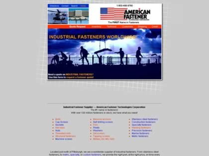Cached version of American Fastener