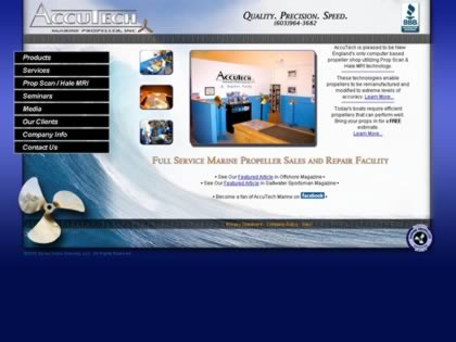Cached version of AccuTech Marine Propeller, Inc.