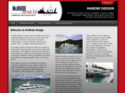 Cached version of McBride Design Ltd.