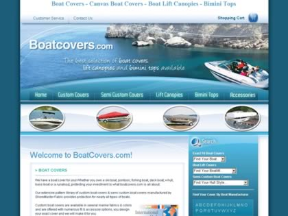 Cached version of Boatcovers.com