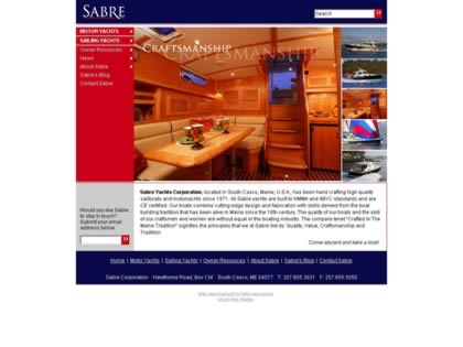 Cached version of Sabre Yachts Corporation