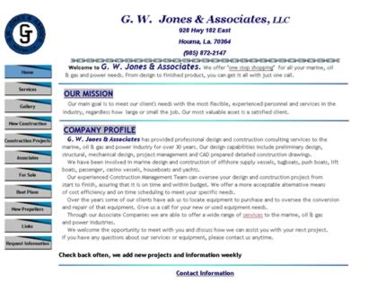 Cached version of G.W. Jones & Associates