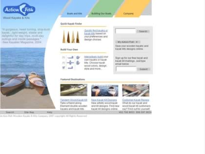 Cached version of Action Fish Kayak Kits