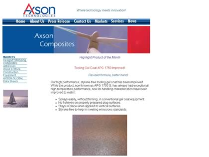 Cached version of Axson North America