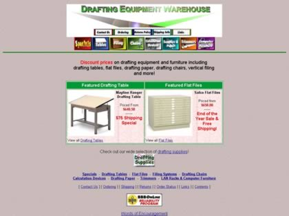 Cached version of Drafting Equipment Warehouse