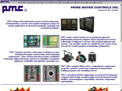 Cached version of Prime Mover Controls