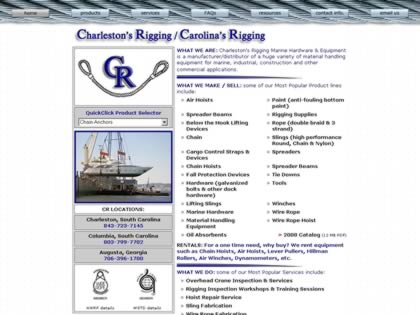 Cached version of Charleston's Rigging & Marine Hardware